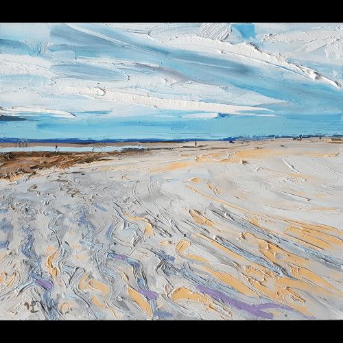 Slady na piasku
